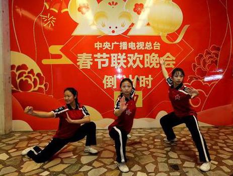 央视春晚唯一武术节目 河南塔沟武校仍在精雕细琢(图)