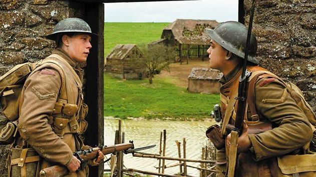 全国首周票房破亿,大片《1917》8月7日上映